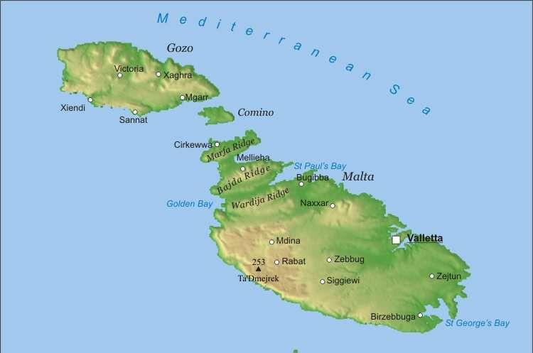 Cartina Politica Malta.Anche Canale Monterano Nel Ponte Di Amicizia Tra Italia E Malta La Voce Del Quartiere