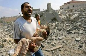 Bambino-sotto-i-bombardamenti
