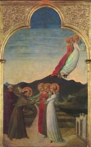 Sposalizio mistico di San Francesco - Sassetta - 1450 circa