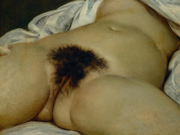 Gustave Courbet L'origine del mondo 1866 Olio su tela. 46 x 55 cm Museo d'Orsay, Parigi