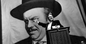 Orson Wells in Quarto Potere