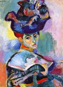 Henri Matisse, Donna con Cappello, 1905, olio su tela, 81 x 60 cm