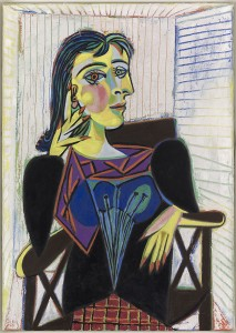 Pablo Picasso, Ritratto di Dora Maar, 1937, olio su tela, 92x65 cm, Musée National Picasso, Parigi